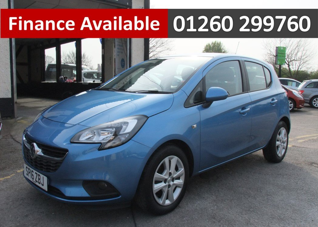 2016 VAUXHALL CORSA 1.4 DESIGN ECOFLEX 5DR For Sale (picture 1 of 6)