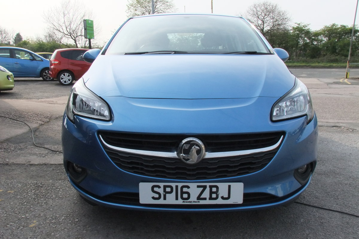 2016 VAUXHALL CORSA 1.4 DESIGN ECOFLEX 5DR For Sale (picture 4 of 6)