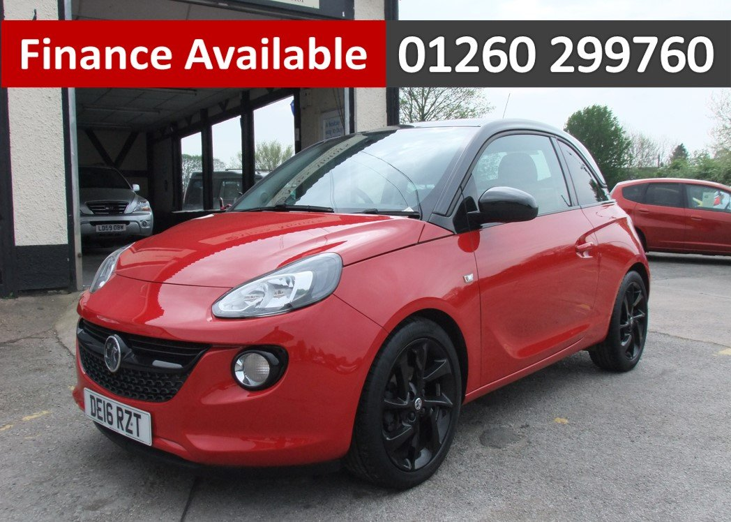 2016 VAUXHALL ADAM 1.2 ENERGISED 3DR For Sale (picture 1 of 6)