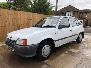 1988 Vauxhall Astra Merit - 1 owner from new! For Sale by Auction