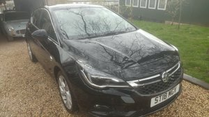 Vauxhall astra K 2018 damage repairable For Sale