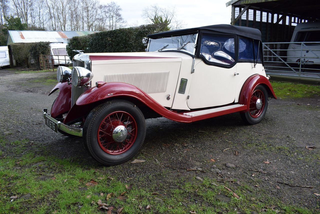 1934 Vauxhall Stratford Sports Tourer For Sale (picture 1 of 6)