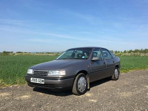 1992 Vauxhall Cavalier GL 44k Miles at Morris Leslie Auction SOLD by Auction (picture 1 of 6)
