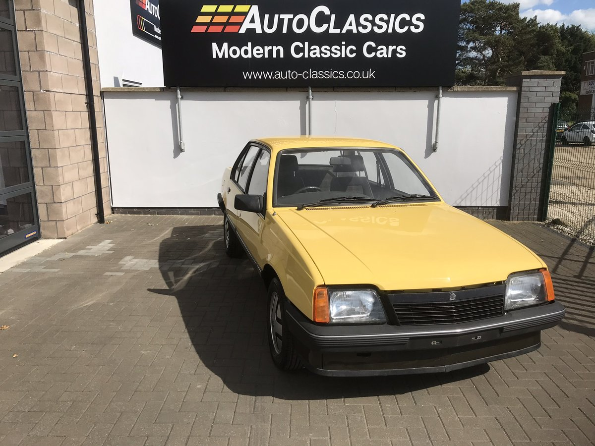 1982 Vauxhall Cavalier 1.6 SR CONTACT US ON 01604 646400 For Sale (picture 1 of 6)