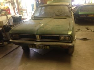 1972 Barn Find Vauxhall Viva SL 2.3 for Restoration For Sale