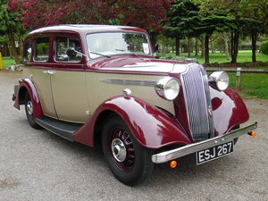 1936 Vauxhall Fourteen Six Stunning condition inside and out SOLD