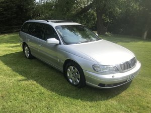 2003 VAUXHALL OMEGA ESTATE ONLY 24000 MILES FROM NEW For Sale