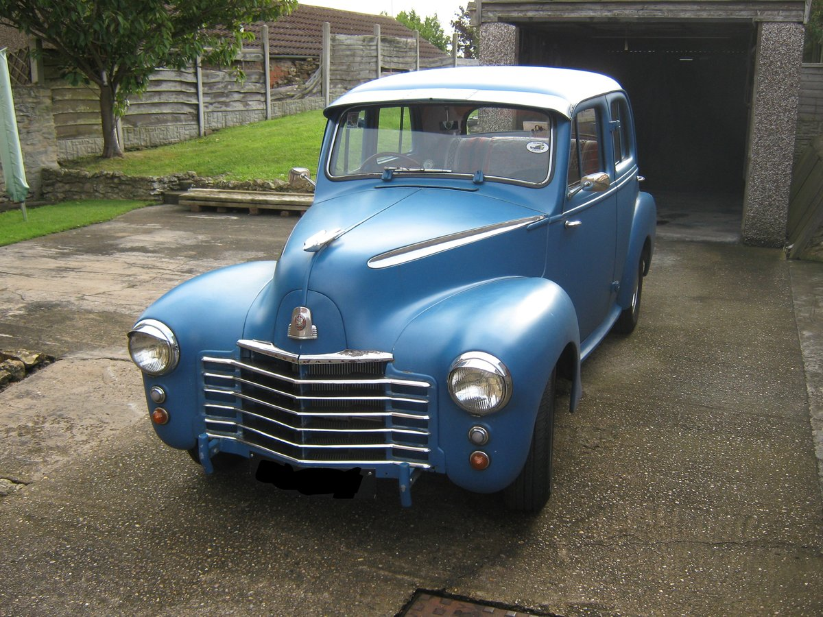 1950 Vauxhall - Rat Rod / Restoration Project...  For Sale (picture 1 of 6)
