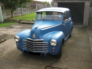 1950 Vauxhall - Rat Rod / Restoration Project...