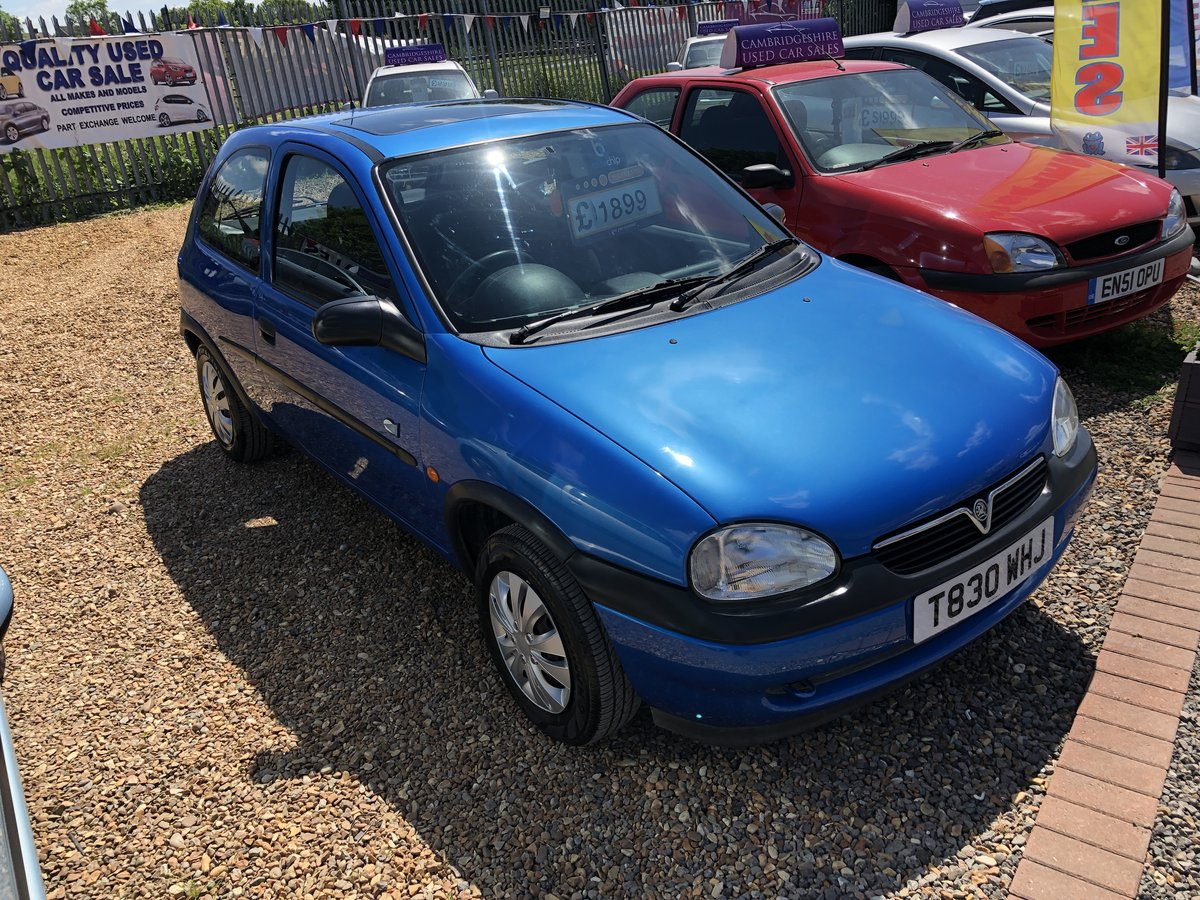 1999 Vauxhall Corsa 1.2 i 16v Club 3dr For Sale (picture 1 of 6)