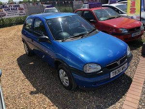 1999 Vauxhall Corsa 1.2 i 16v Club 3dr For Sale