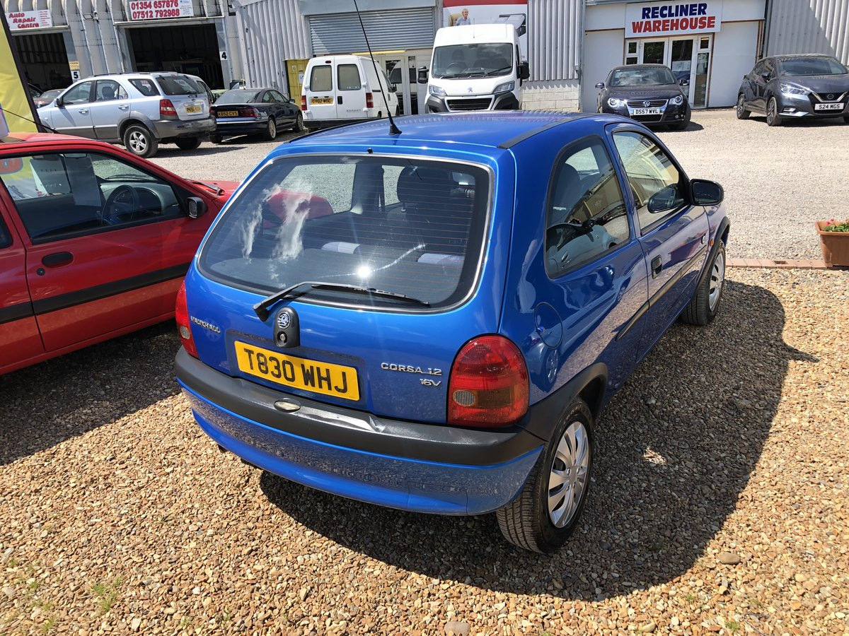 1999 Vauxhall Corsa 1.2 i 16v Club 3dr For Sale (picture 3 of 6)