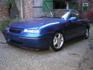 1995 Vauxhall Calibra 20ltr 8 valve. For Sale