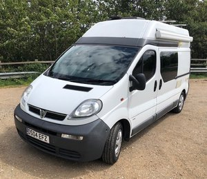 2004 Fully equipped camper van SOLD