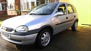 Corsa B CDX 1.4 16V 1999 For Sale