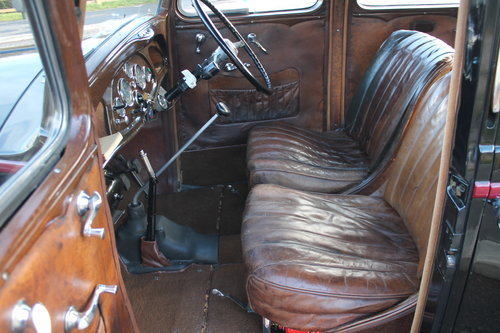 1935 Vauxhall Light 14/6 De Luxe Saloon With Sunroof SOLD (picture 3 of 6)