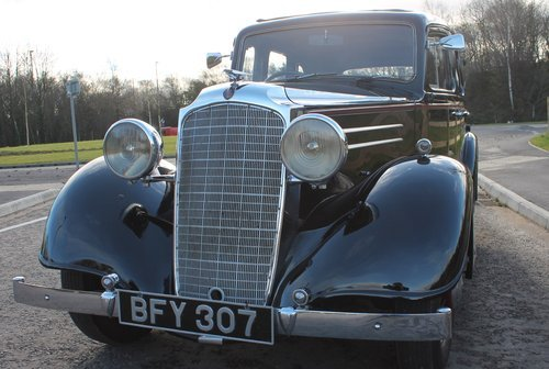 1935 Vauxhall Light 14/6 De Luxe Saloon With Sunroof SOLD (picture 6 of 6)