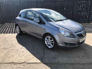 Picture of Vauxhall Corsa, 2009 (59) Silver Hatchback SOLD