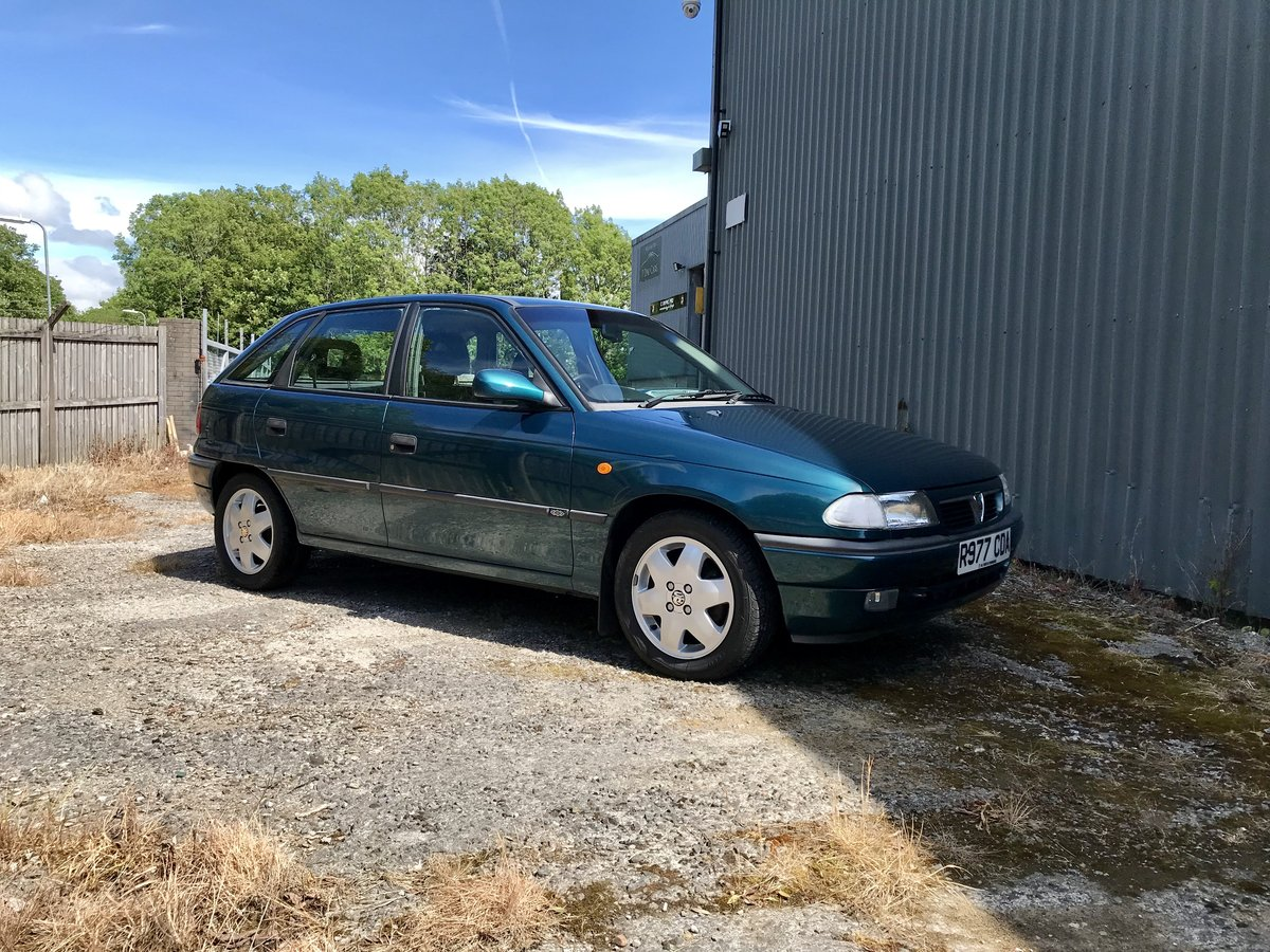 1997 Vauxhall Astra 17,000miles For Sale (picture 1 of 6)