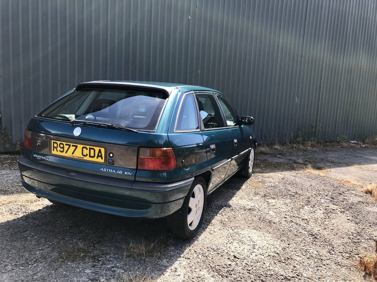 1997 Vauxhall Astra 17,000miles For Sale (picture 4 of 6)