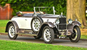 1928 Vauxhall 20/60 Fastback DHC with Dickey For Sale