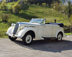 1937 Vauxhall 25 GY Wingham Cabriolet