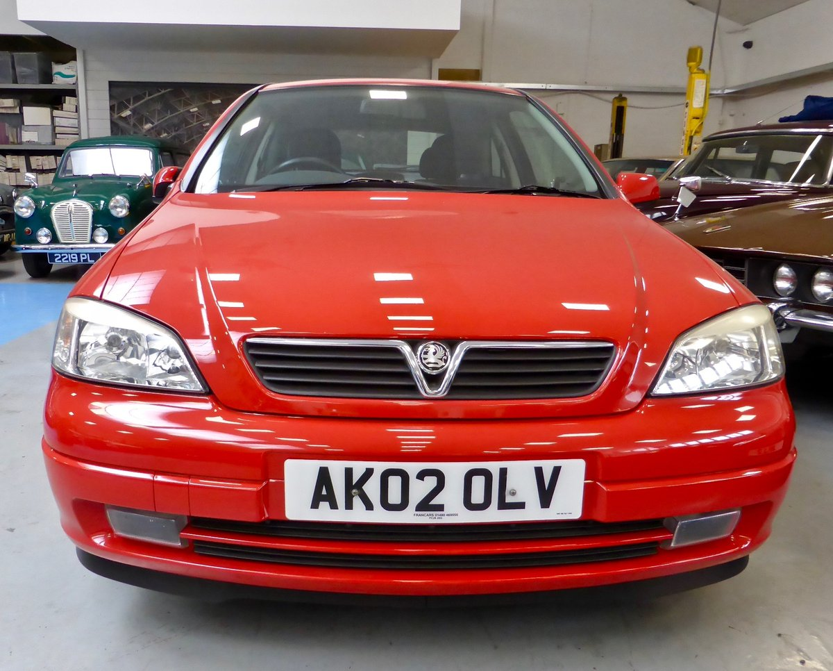 2002 Vauxhall Astra SXI Hatchback  For Sale (picture 1 of 6)