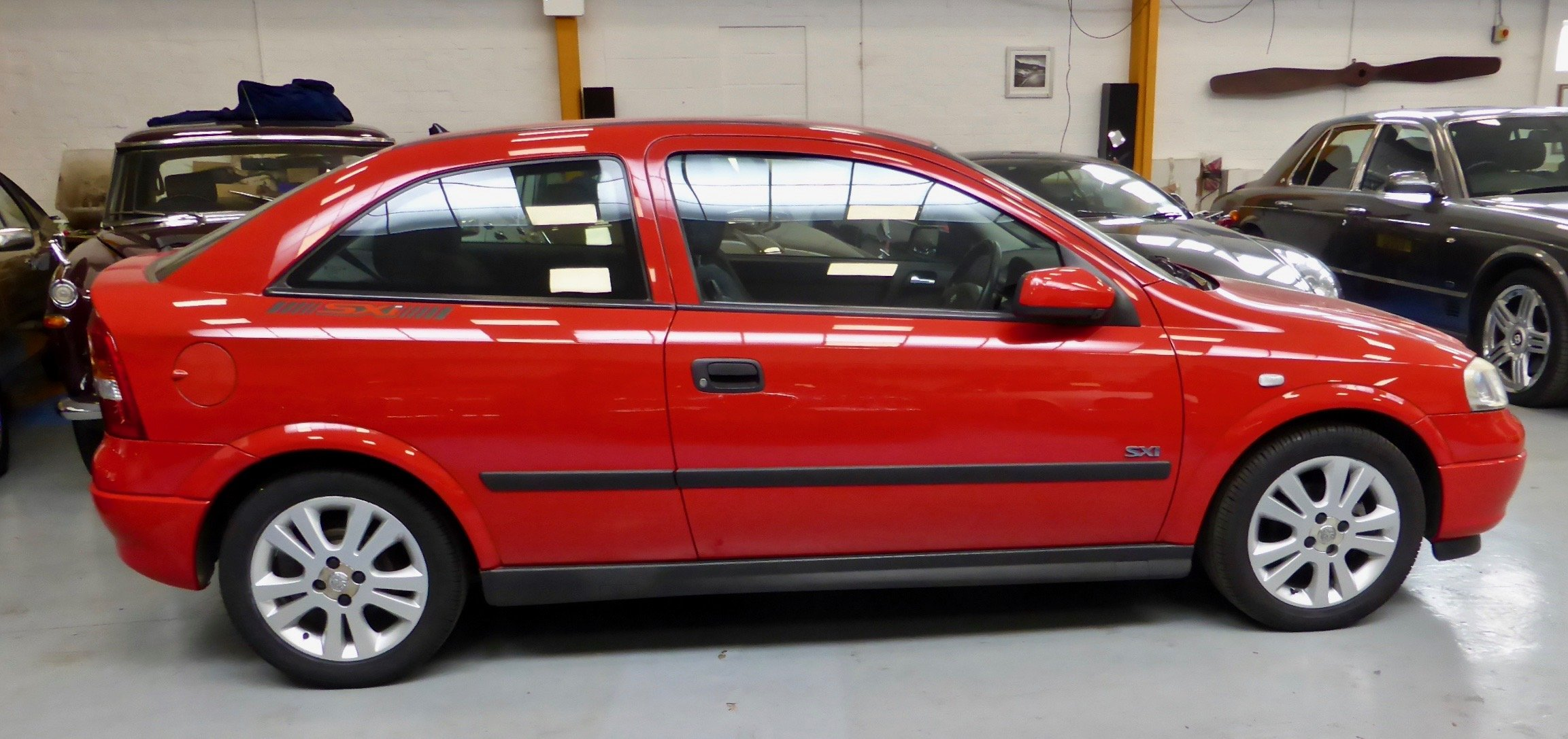2002 Vauxhall Astra SXI Hatchback  For Sale (picture 3 of 6)