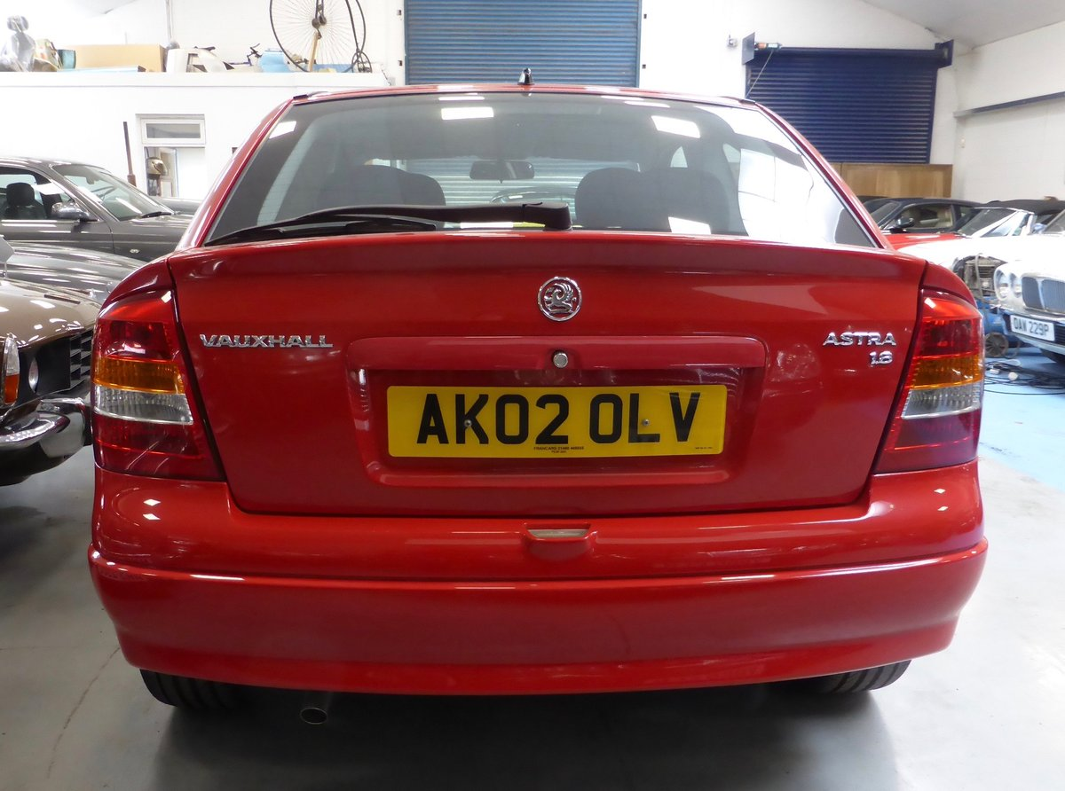 2002 Vauxhall Astra SXI Hatchback  For Sale (picture 5 of 6)