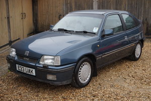1987 VAUXHALL ASTRA GTE 62,000 MILES 3 OWNERS For Sale