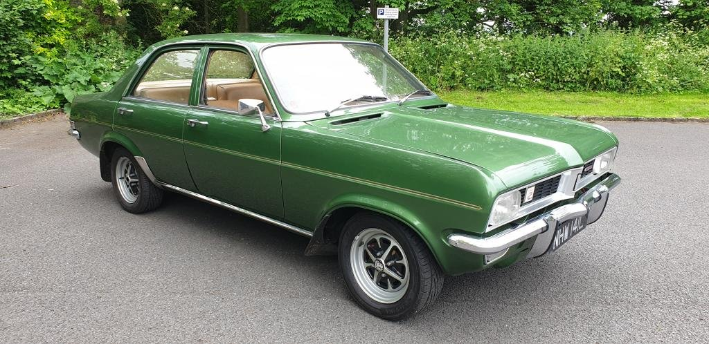 **NEW ENTRY** 1972 Vauxhall Viva 2279 Deluxe SOLD by Auction (picture 1 of 1)