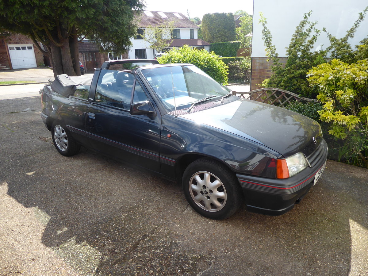 1991 ASTRA MARK 2 CONVERTIBLE For Sale (picture 1 of 6)