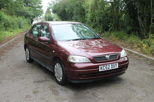 2003 2002 52 VAUXHALL ASTRA LS 1.4 ONLY 52,000 MILES For Sale