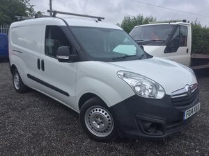 2014/14 Vauxhall Combo L2 Long wheel base For Sale