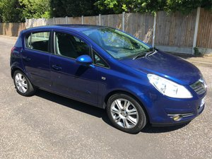 2006 56 vauxhall corsa 1.2 design 5dr 72k hpi clear For Sale