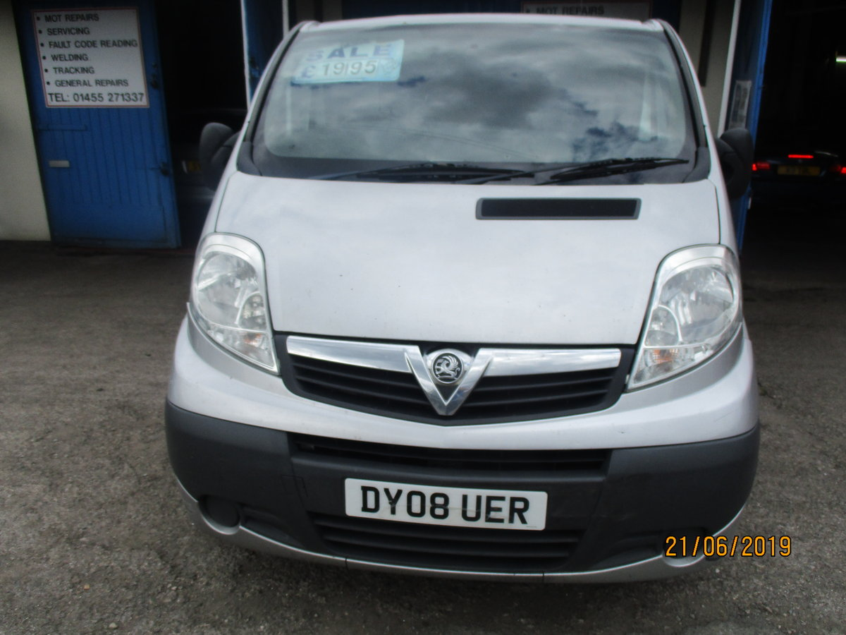 2008 SWB FLAT ROOF VAUXHALL 260,000 MILES STILL GOS VERY WELL For Sale (picture 3 of 6)