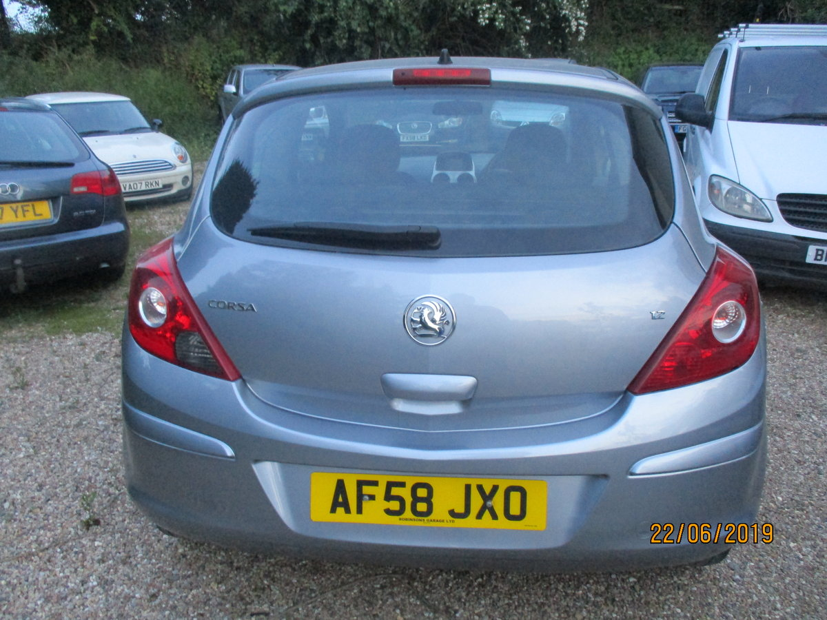 2008 CORSA 1200cc PETROL 3 DOOR  LIFE  MODEL NEW MOT AND SERVICED For Sale (picture 2 of 6)