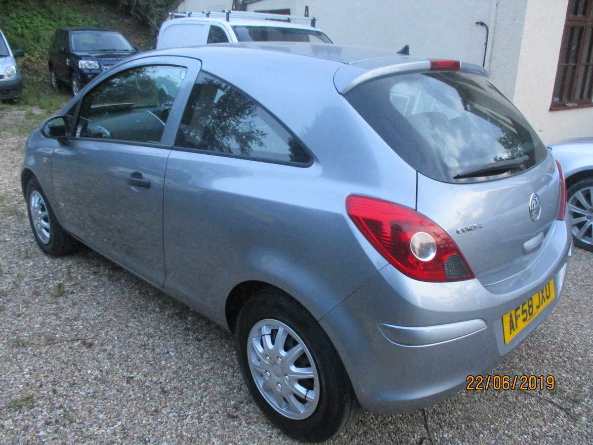 2008 CORSA 1200cc PETROL 3 DOOR  LIFE  MODEL NEW MOT AND SERVICED For Sale (picture 3 of 6)