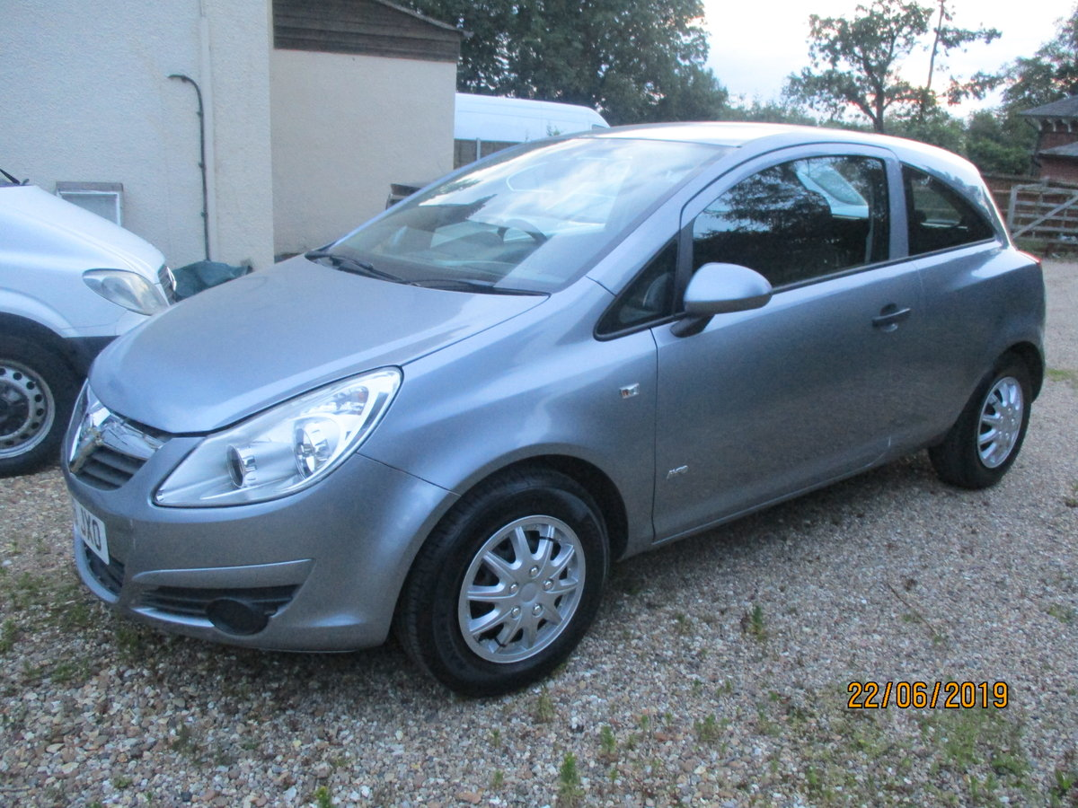 2008 CORSA 1200cc PETROL 3 DOOR  LIFE  MODEL NEW MOT AND SERVICED For Sale (picture 4 of 6)