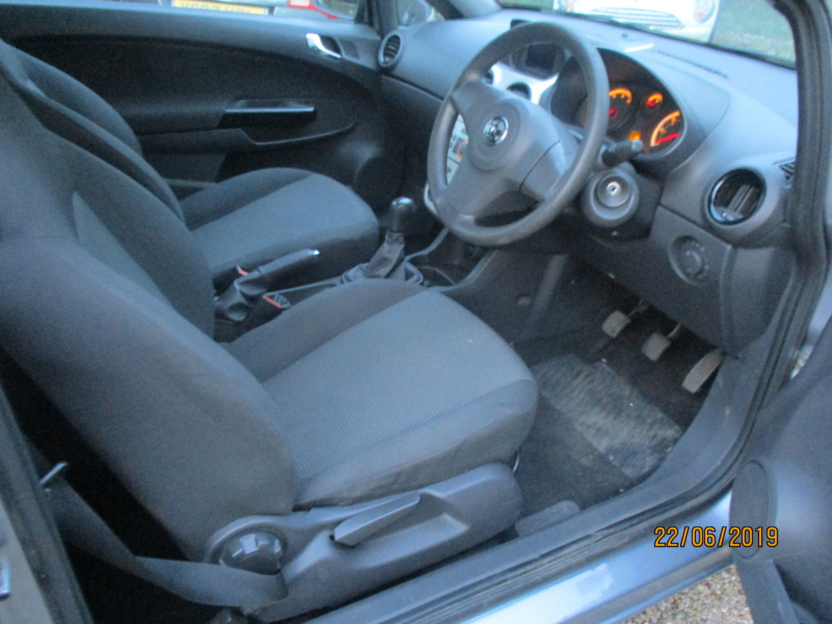 2008 CORSA 1200cc PETROL 3 DOOR  LIFE  MODEL NEW MOT AND SERVICED For Sale (picture 5 of 6)