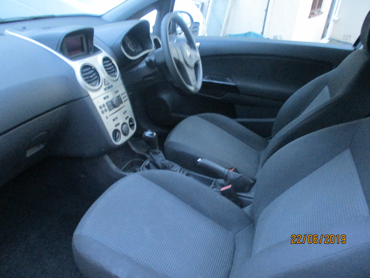 2008 CORSA 1200cc PETROL 3 DOOR  LIFE  MODEL NEW MOT AND SERVICED For Sale (picture 6 of 6)