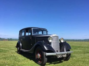 1934 Vauxhall 14 Light 6 ASX Deluxe at Morris Leslie Auction SOLD by Auction