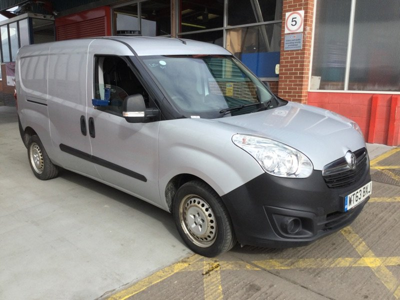 2014/63 Vauxhall Combo 1.3CDTi LWB L2H1 Van 71718 miles FSH For Sale (picture 1 of 6)