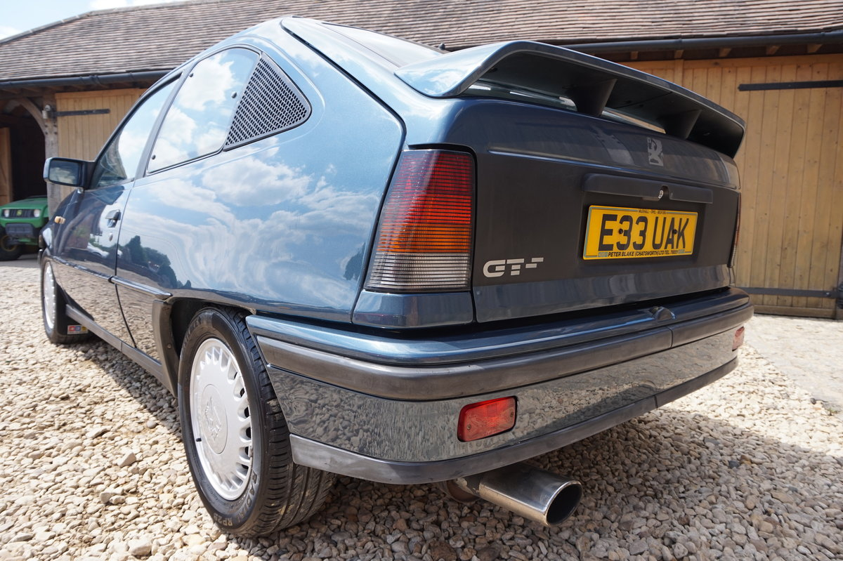 1987 VAUXHALL ASTRA GTE  8V NOT 16V 62,000 MILES 3 OWNERS For Sale (picture 5 of 6)