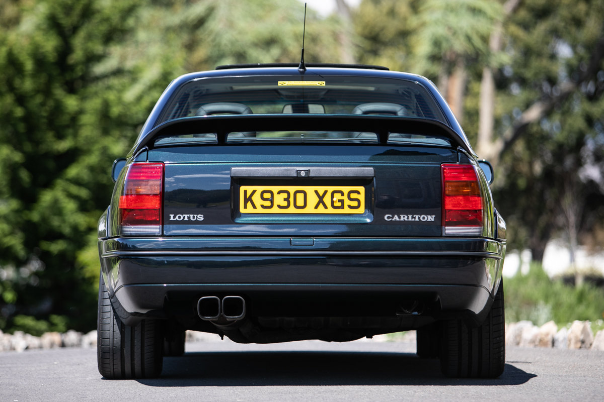 1992 Vauxhall Lotus Carlton SOLD by Auction (picture 4 of 6)