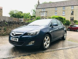 2011 Vauxhall Astra 2.0 CDTi (160hp) Auto FULL MOT For Sale