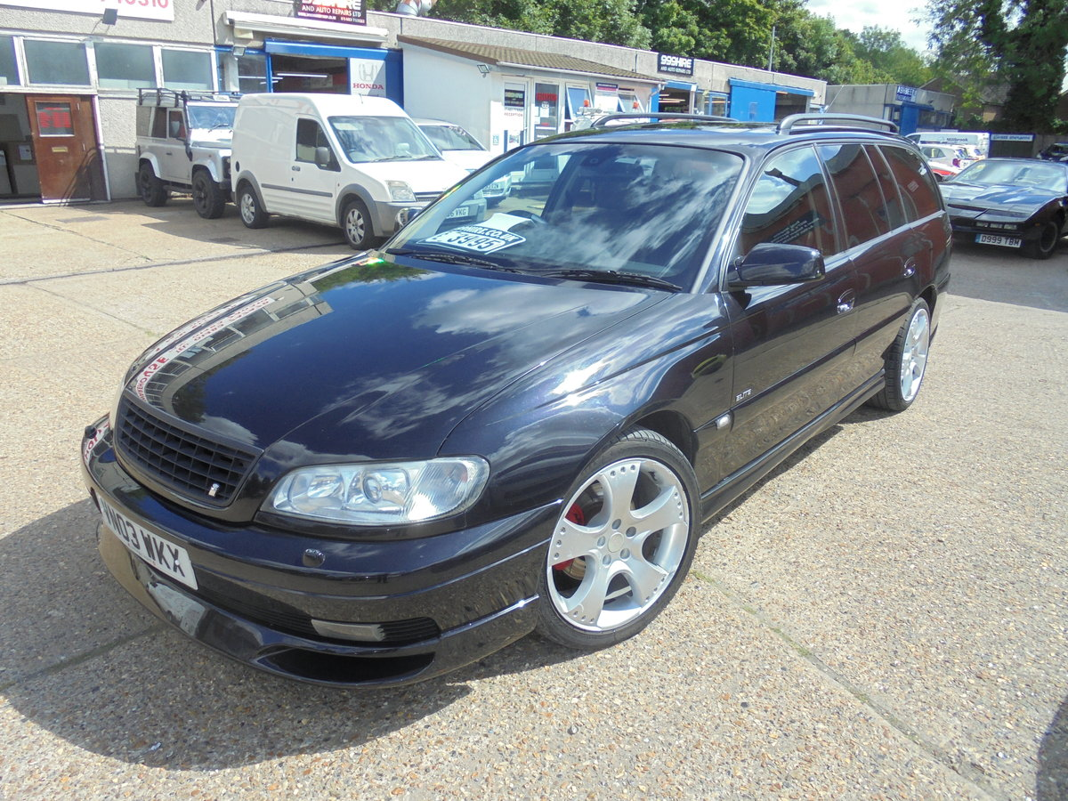 Vauxhall omega 3.2 elite irmscher kitted 2003/03 For Sale (picture 1 of 6)