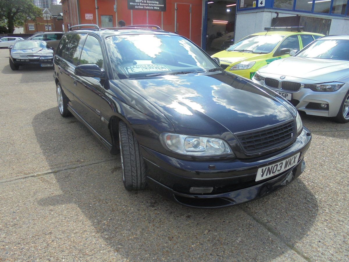 Vauxhall omega 3.2 elite irmscher kitted 2003/03 For Sale (picture 2 of 6)