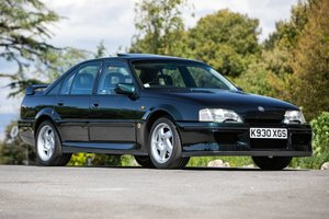1992 Vauxhall Lotus Carlton- just 33,000 miles and original For Sale by Auction