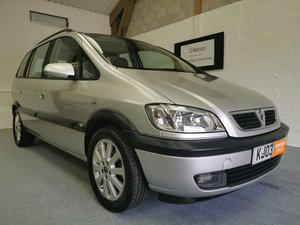 2003 Vauxhall Zafira 1.8 Elegance+Same owner 15 yrs+MOT'd 8/05/20 For Sale